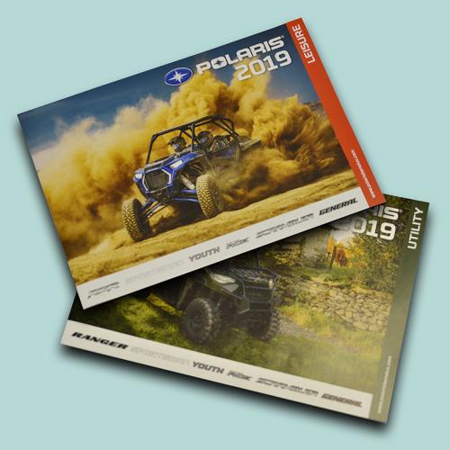 2 Polaris brochures voorkanten