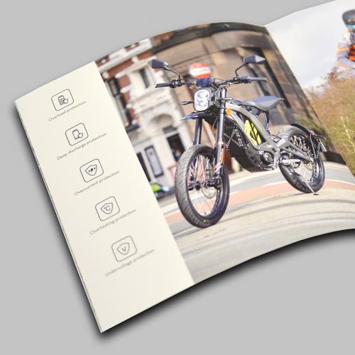 Binnenpagina brochure Sur-Ron