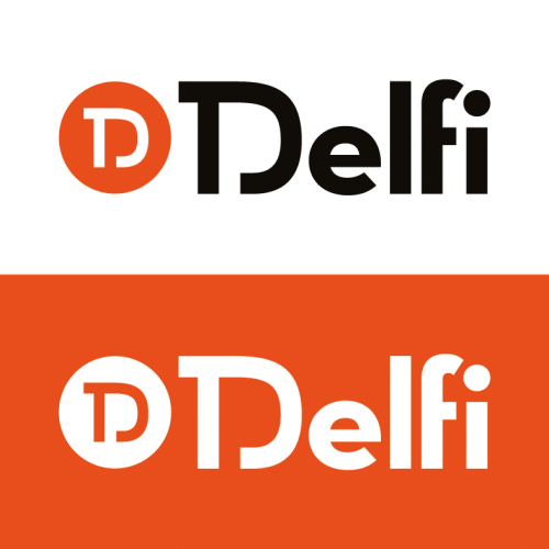 Delfi huisstijl/logo's