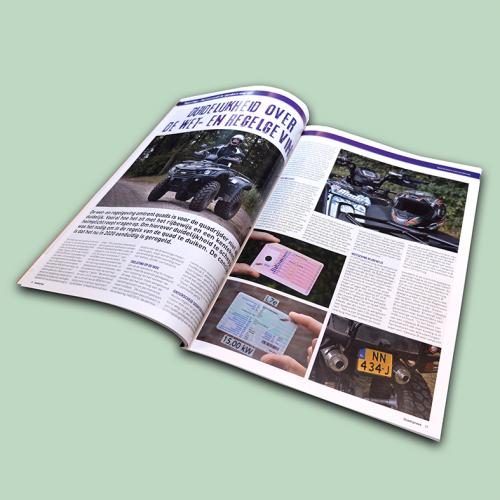 QuadXpress magazine binnen pagina's