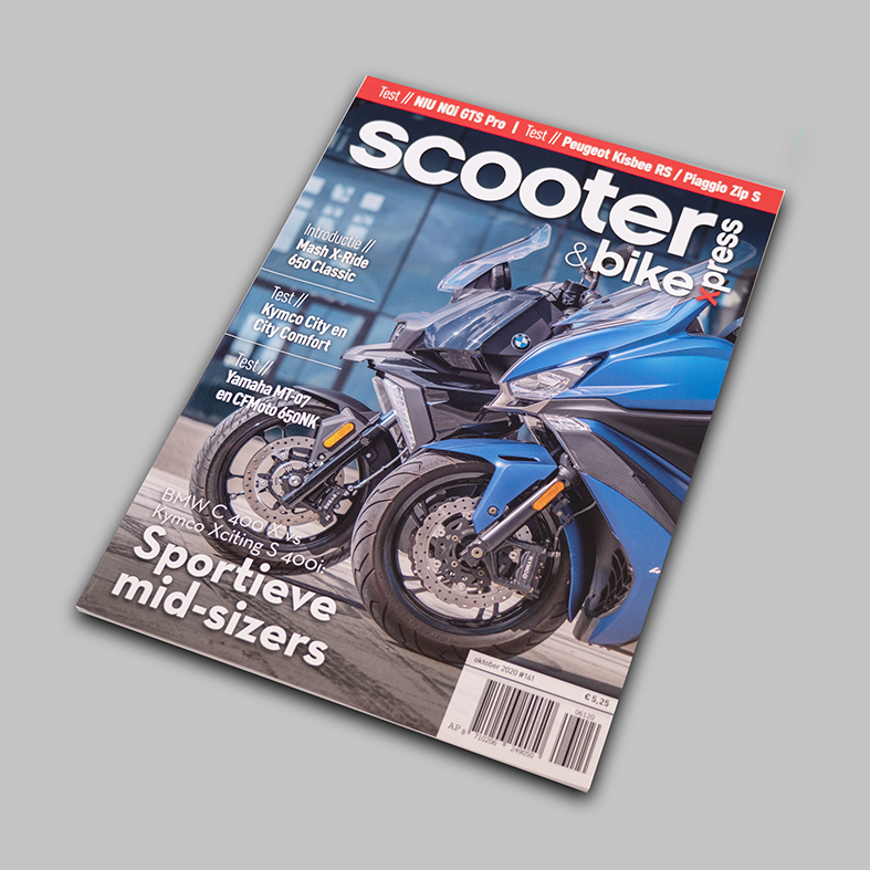 Scooter&BikeXpress magazine cover